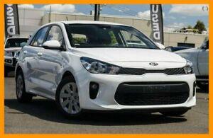 2018 Kia Rio YB MY18 S White 4 Speed Sports Automatic Hatchback Mount Gravatt Brisbane South East Preview