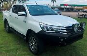 2016 Toyota Hilux GUN126R SR5 Double Cab White 6 Speed Sports Automatic Utility Berrimah Darwin City Preview