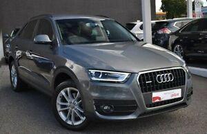 2013 Audi Q3 8U MY14 TDI S tronic quattro Grey 7 Speed Sports Automatic Dual Clutch Wagon Burwood Whitehorse Area Preview