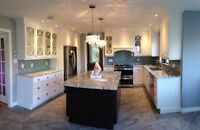 Renovation services and custom cabinetry