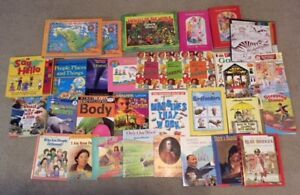 Kids educational/ stories/historical/nature. puzzle books