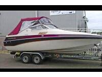 Boat Crownline 24ft motor cruiser. 2.8 turbo Diesel