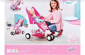 Baby born doll clothes,pram+ accessories Redcliffe Belmont Area Preview