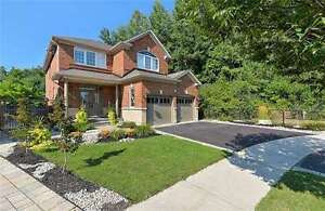 One of a kind surrounded by nature detached 4bedroom home!