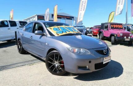 2006 Mazda 3 BK10F1 Neo Grey 5 Speed Manual Sedan Woodridge Logan Area Preview