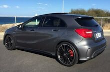 2013 Mercedes-Benz A45 W176 AMG SPEEDSHIFT DCT 4MATIC Mountain Grey 7 Speed Sports Automatic Dual Cl Wangara Wanneroo Area Preview