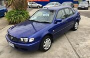 2001 Toyota Corolla AE112R Ascent Seca Blue 4 Speed Automatic Liftback Dandenong Greater Dandenong Preview