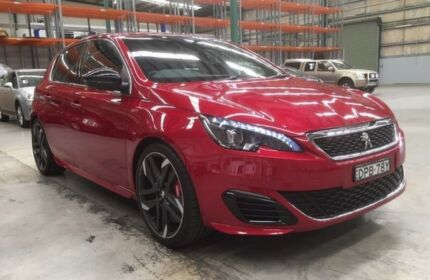 2017 Peugeot 308 T9 MY17 GTI 270 Red 6 Speed Manual Hatchback
