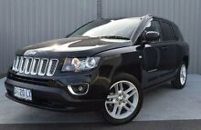 2013 Jeep Compass MK MY13 Limited CVT Auto Stick Black 6 Speed Constant Variable Wagon Invermay Launceston Area Preview