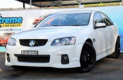 2010 Holden Commodore VE II SV6 White Sports Automatic Sedan Campbelltown Campbelltown Area Preview