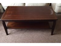 COFFEE TABLES IN MAHOGANY FOR SALE