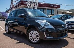 2015 Suzuki Swift FZ MY15 GL Black 4 Speed Automatic Hatchback Alfred Cove Melville Area Preview