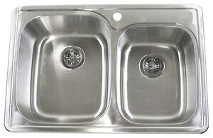 EnjoyHome Stainless Steel Sinks On Sales Cambridge Kitchener Area image 10