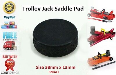 Trolley Jack Saddle pad SMALL jacking pads Rubber pad, rubber block, hydraulic