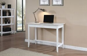 New Quadra White Desk