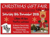 TCF's Christmas Gift Fair - Saturday 8th December 2018. Twickenham, Middlesex