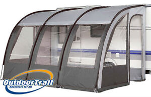 390 XL Caravan Porch Awning - Charcoal