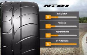 2 X 275-40-17 NITTO NT01 SEMI SLICK RACE STREET PERFORMANCE TYRES Mascot Rockdale Area Preview