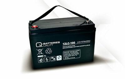 Batería  para autocaravana/camper/barco Q-Batteries de 107Ah