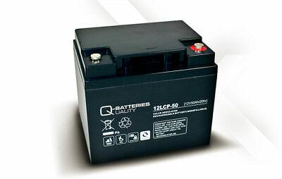 Batería carro de golf/moto eléctrica Q-BATTERIES AGM 12LCP-50 12v 50Ah