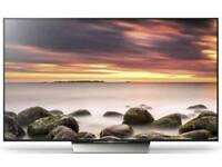 """Sony 65"""" 4k Ultra Hd smart tv with HDR & Android. has scratch on screen must see."""