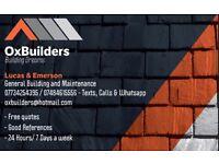 OxBuilders - General Maintenance