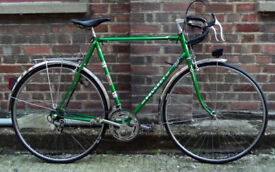 French vintage road bike PEUGEOT frame size 23inch 12 speed, serviced - WARRANTY - NEW TYRES