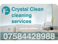 Crystal Clean, weekly, fortnightly, domestic, end of tenancy, business Cleans available.