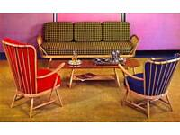 Looking for furniture inc Ercol, retro, mid century, Chesterfield sofas and more...