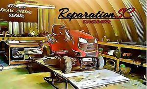 Réparation petit moteur,Tondeuse Souffleuse ect