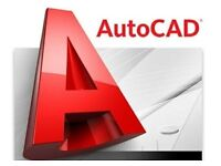 Drawing 2D and 3D drafting in AutoCAD program