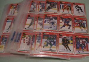 91-92 Score English hockey set - 330 cards