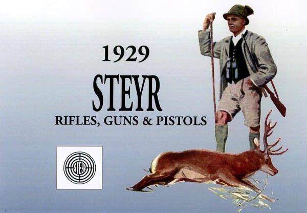 Steyr-Mannlicher Schoenauer Repeating Sporting Rifles 1929 (in English-Catalog)