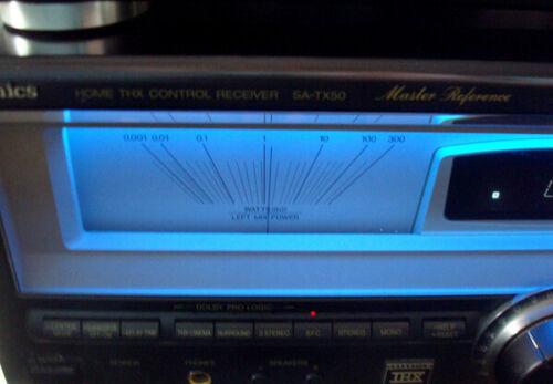 Technics SA-TX50 Receiver + Technics SH-AC500 Processor --  NICE