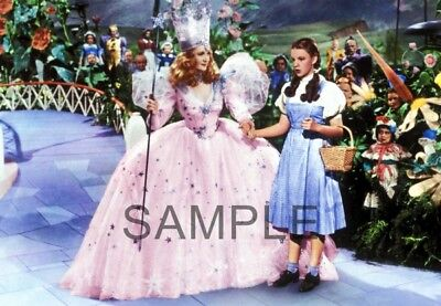 The Wizard Of Oz    Fabric Art Quilt Block   Twoo91  Free Shipping
