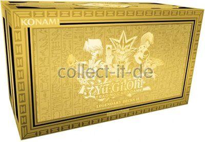 Yu-Gi-Oh! Yugioh - 1 Yugis Legendary Deck Box 2 - deutsch - Limitierte Auflage
