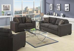 $$$ Blow Out Sale - Brand new modern SOFA / LOVESEAT  (fabric/ leather)