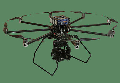 "Turbo Ace Infinity 9 OCTOCOPTER, Foldable Frame, 50"" Frame - Step up from S1000"
