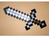 minecraft foam sword And Pick axe In Good Condition Needs To Be Gone ASAP
