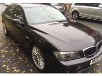 BMW 730d Sport Metallic Black Huge Spec