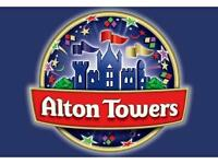 Alton towers sun 21 august x 4. Can post