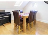 Mangowood 6 Seater Dining Table and Chairs