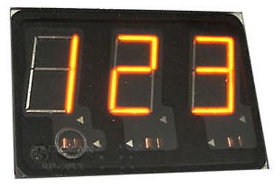 Beckman /Sperry SP353, Panaplex, 3 x 7 Segment Digits, Nixie (Neon) Display, NOS
