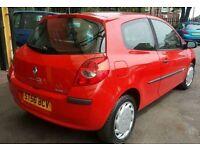 Renault Clio 1.6 petrol 70k 12mot Icars L7 OLD