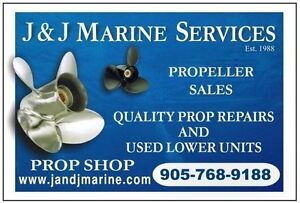 Prop & Skeg Repairs, Alum. Boats, Reconditioned Lower Units Kitchener / Waterloo Kitchener Area image 4
