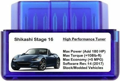Stage 16 Power Performance Chip Tuner [ Add 180 HP / 5 MPG ] OBD Tuning MINI BMW
