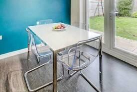 IKEA TOBIAS chairs x 4