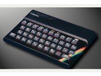 Sinclair ZX Spectrum personal computer 48K RETRO COOL plus TV LCD monitor