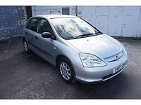 Honda Civic 1.4 i S 5dr // Great Condition, Full service history INCLUDED
