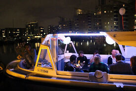 Venue boat to hire Birthday Party, Hen Party, Baby Shower east London